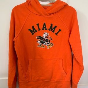 Miami college sweatshirt